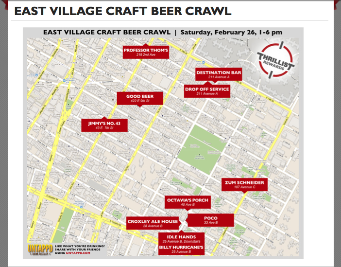 thrillist_east_village_evill_bar_crawl_burger_conquest_2011_map