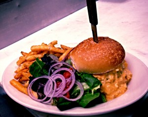 New_York_Beer_Company_NY_Burger_Week_Burger_Conquest_Off_Menu_Delivery_Buffalo Chicken Burger