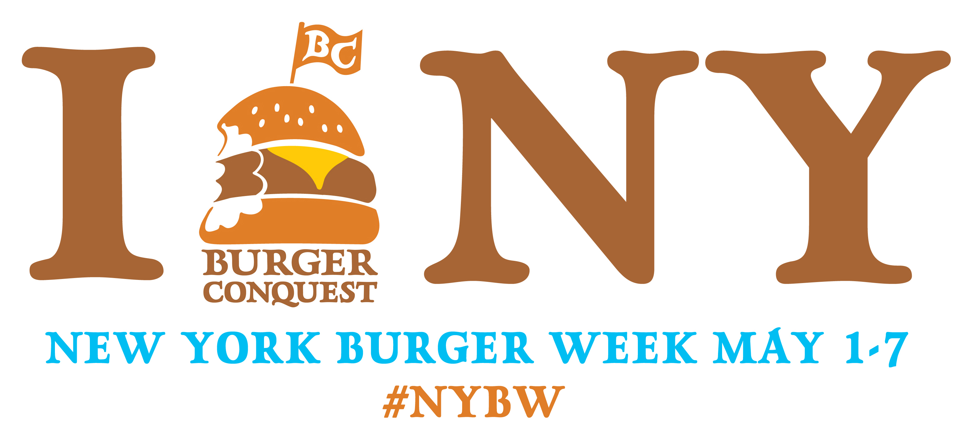 I BURGER NY HORIZONTAL RECTANGLE NYBW_ Final_Hashtag_2013