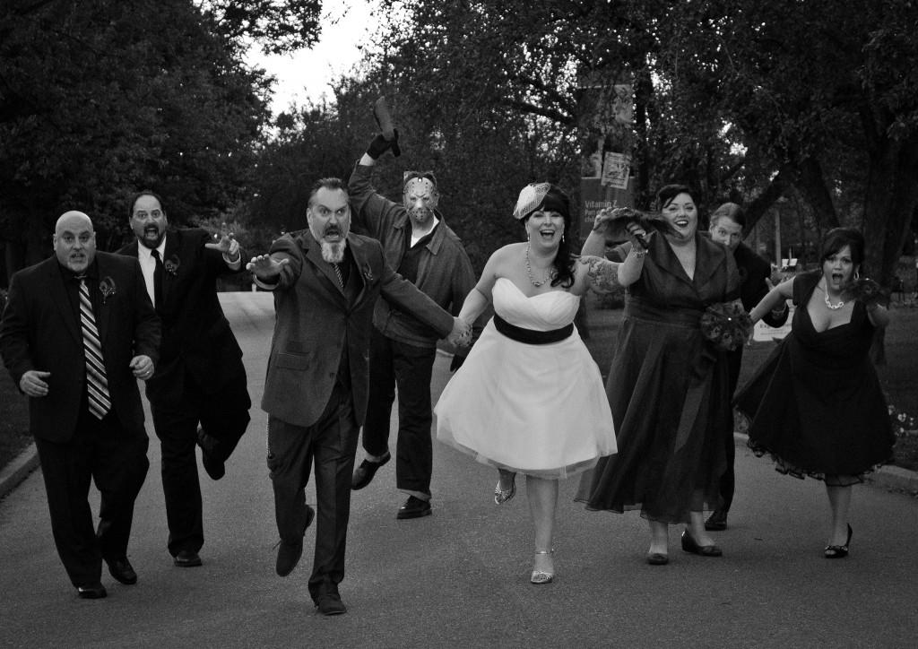 Detroit_zoo_wedding_adam_michele_jason_vorhees_friday_the_13th