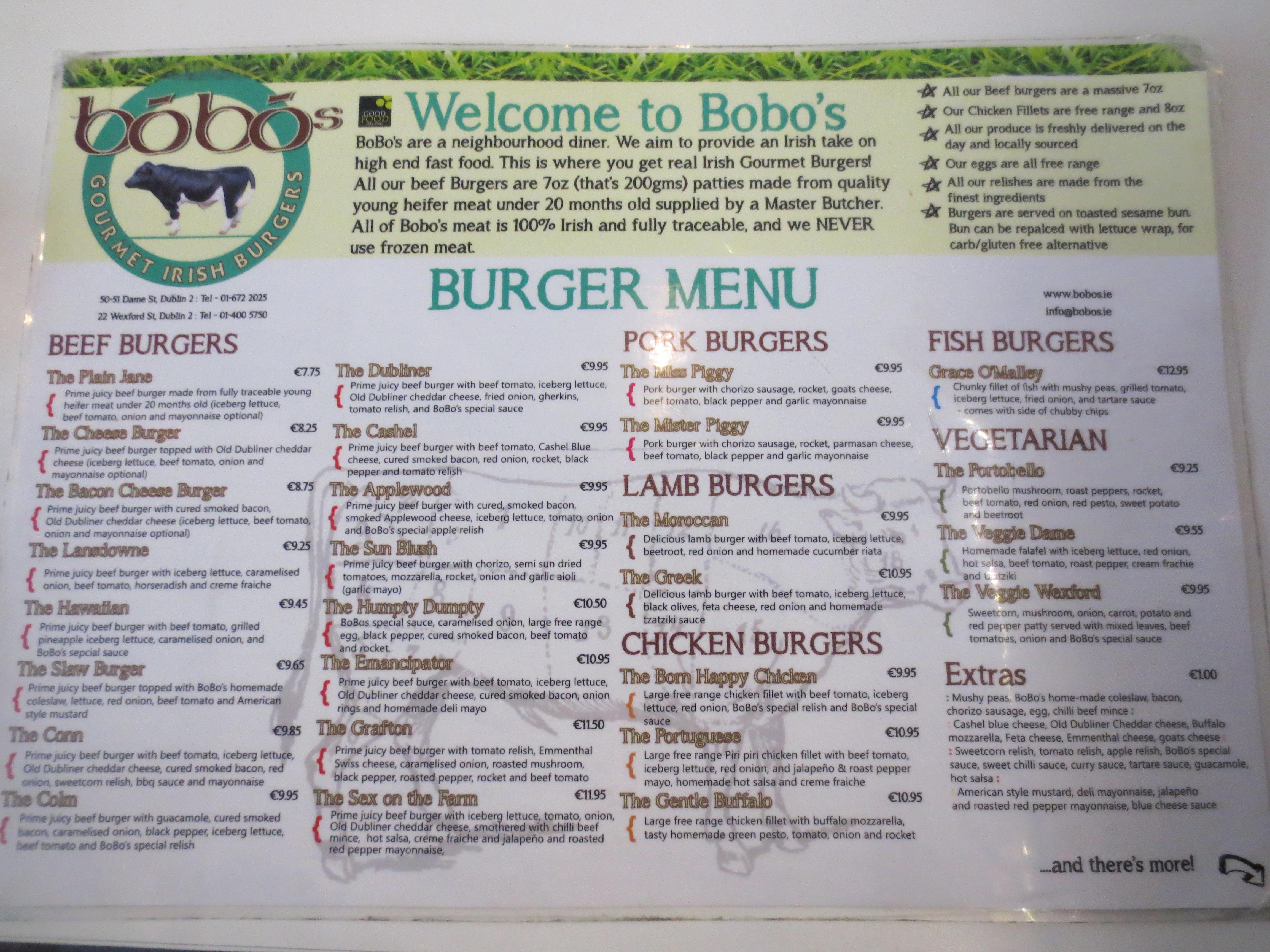 irish menu templates - irish food list food ideas