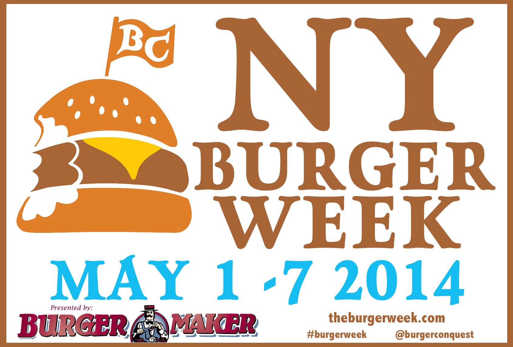 3rd annual NY Burger Week