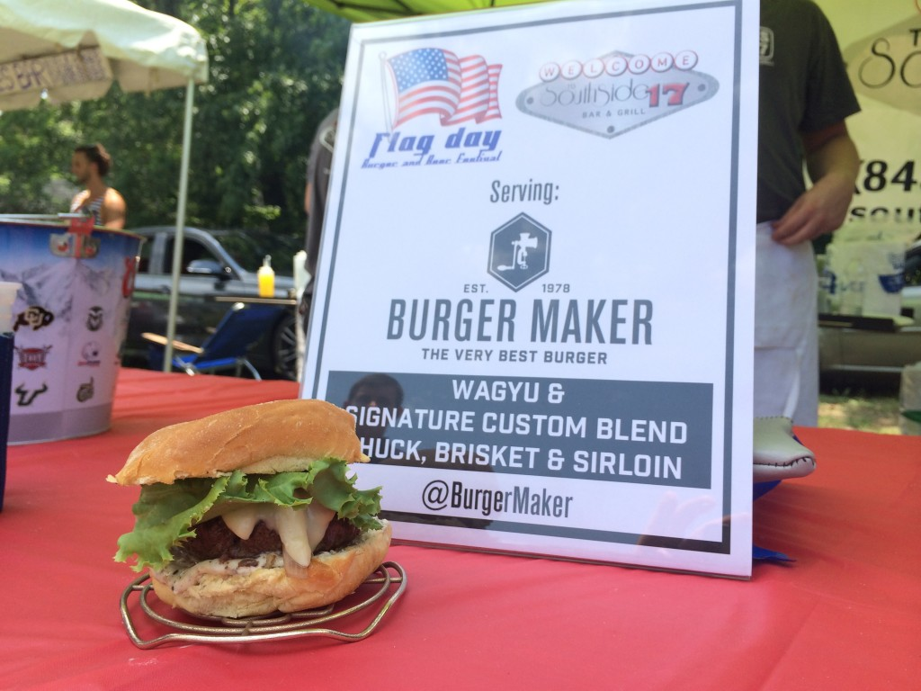 Flag_Day_Burger_and_Beer_Festival_Charletson_SC_Holy_City_Brewing_Burger_Maker_061414_6246