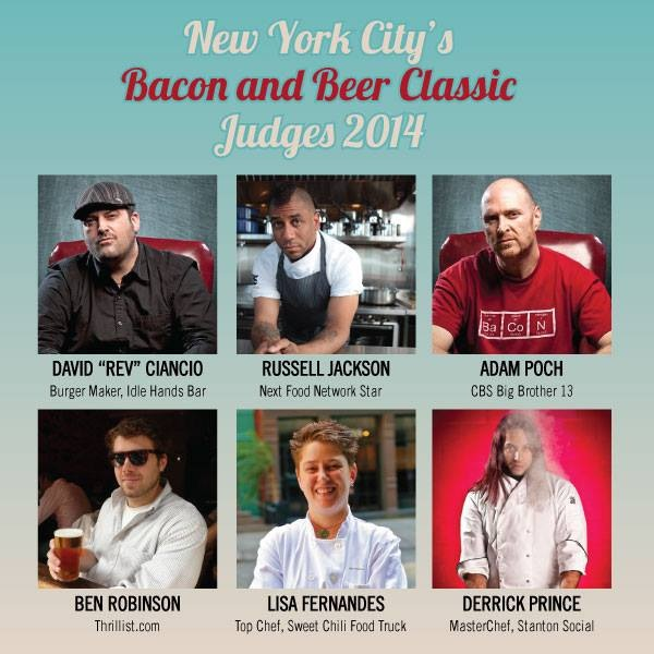 bacon_and_beer_classic_nyc_citi_field_2014_tickets_judges_burger_conquest_rev_ciancio_adam_poch_judges_lisa_fernandes_russell_jackson
