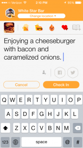 How_to_Become_Mayor_In_Swarm_App_white_star_jersey_city_burger_conquest_1375