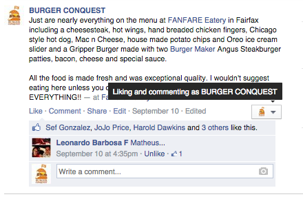 how_to_post_as_yourself_on_facebook_page_admin_fanfare_eatery_fairfax_virginia_ 2.12.35 PM