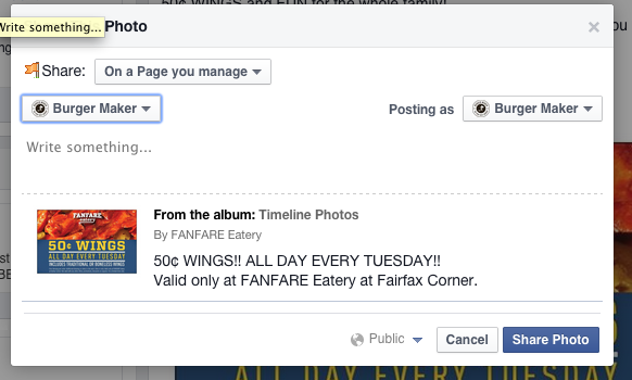 how_to_post_as_yourself_on_facebook_page_admin_fanfare_eatery_fairfax_virginia_07.12 PM