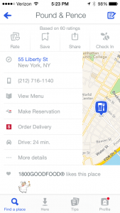 how_to_use_new_foursquare_to_search_for_restaurants_pound_and_pence_burger_conquest_nyc_financial_district_1321