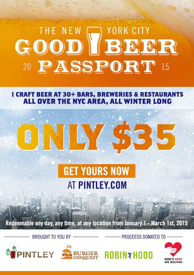 NYC Beer Passport