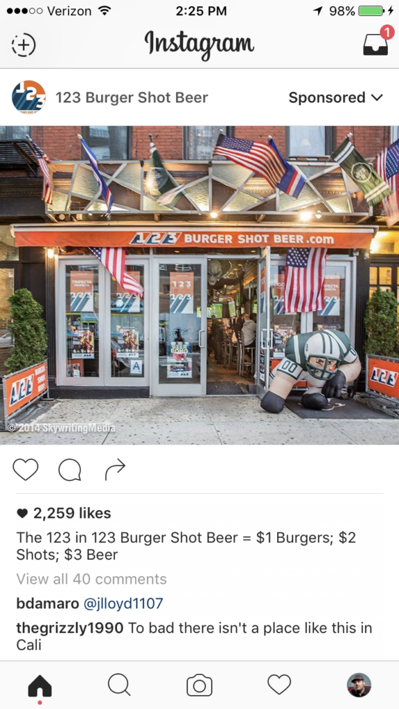 123-burger-shot-beer-instagram