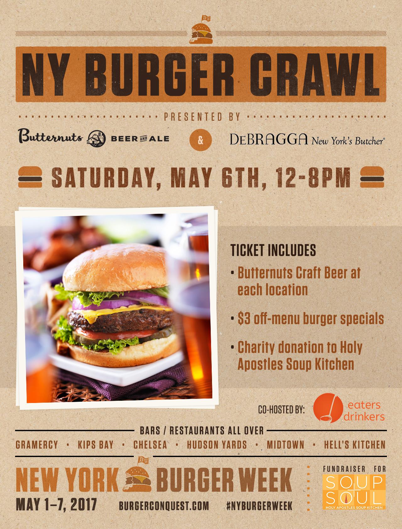 ny burger crawl presented by debragga new york u0027s butcher and