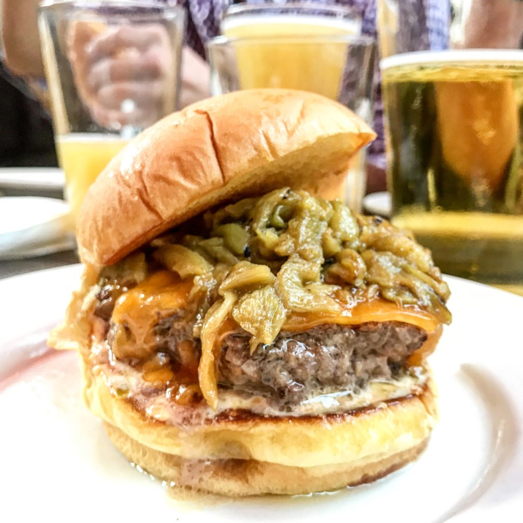 ... Burger – New Mexico Hatch Chile Burger Tasting, 2017 NY Burger Week