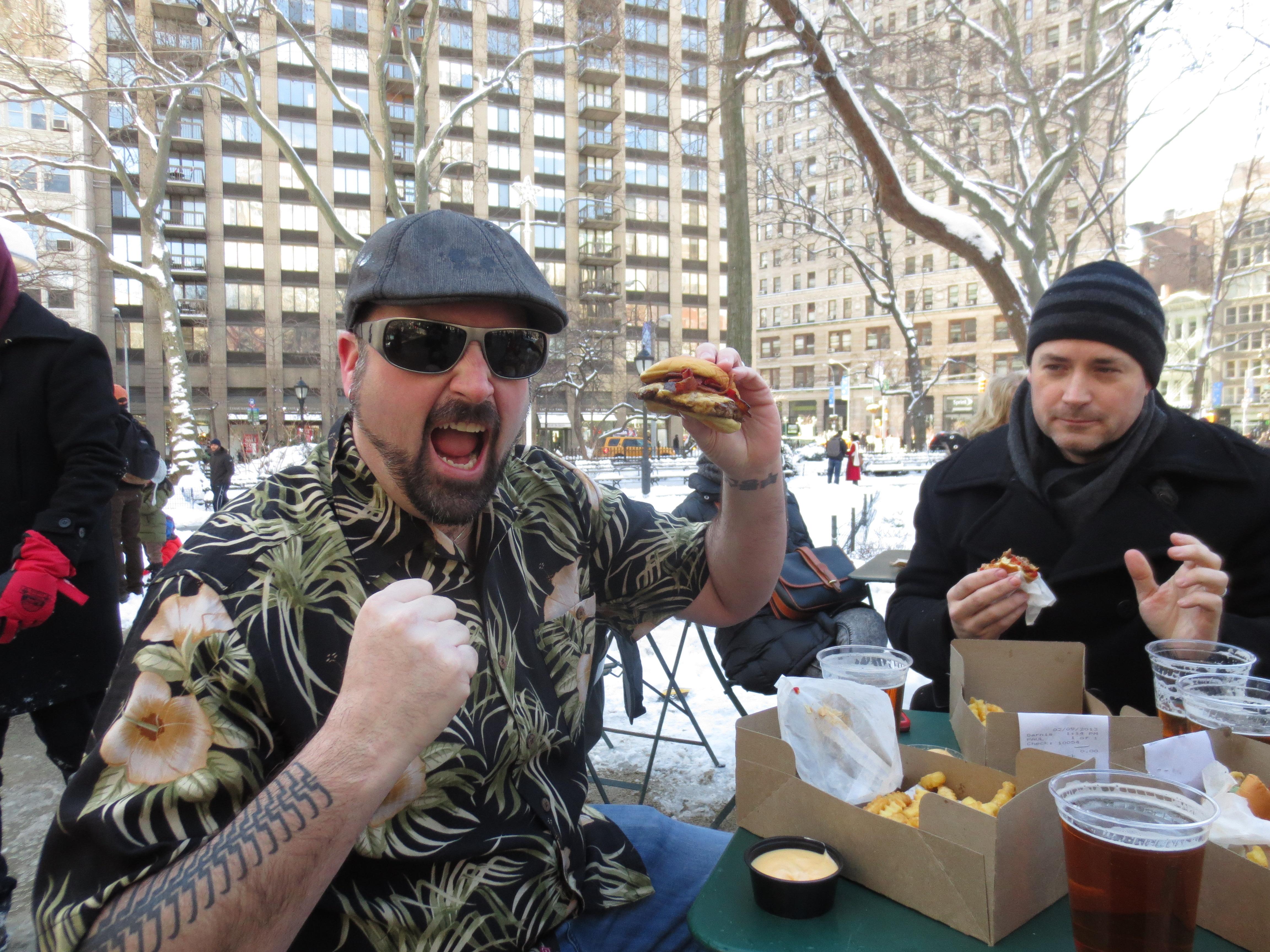 Rev Ciancio Burger Conquest Polar Brrrger Club