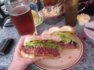 Arthurs_Steak_House_Hoboken_best_burger_nj_conquest_061309 027