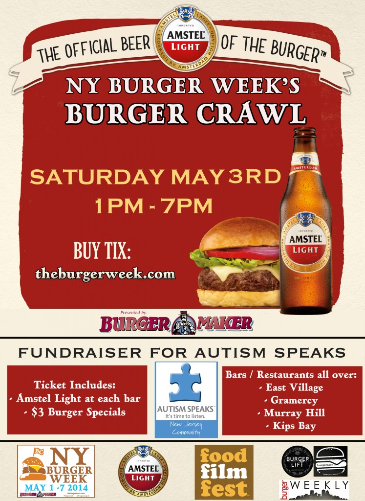 NY_The_Burger_Week_NYC_2014_Amstel_Light_Annual_Burger_Crawl_Autism_Speaks_Event_Rev