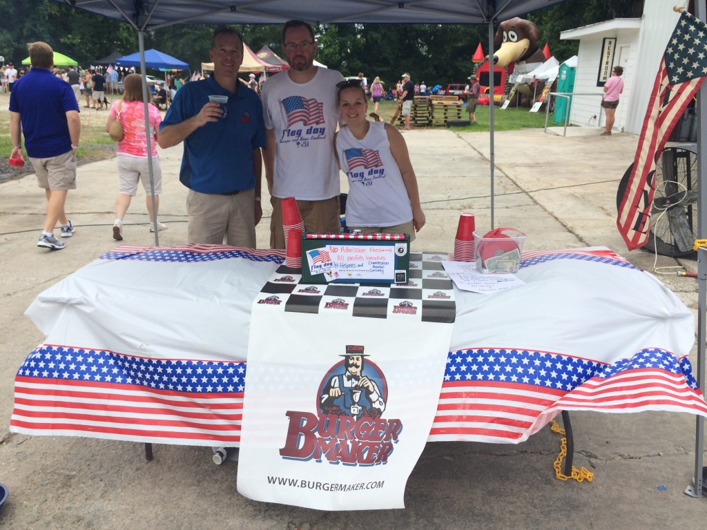 Flag_Day_Burger_and_Beer_Festival_Charletson_SC_Holy_City_Brewing_Burger_Maker_061414_6312