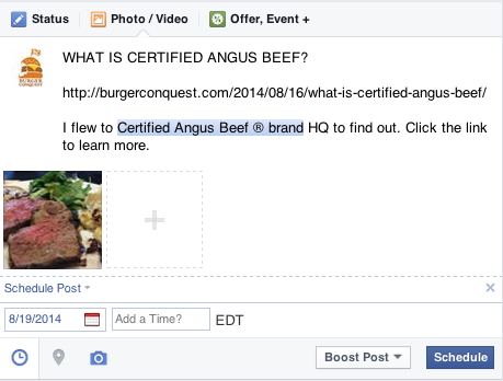 how_to_schedule_facebook_posts_burger_conquest_what_is_certified_angus_beef_ 7.36.02 PM