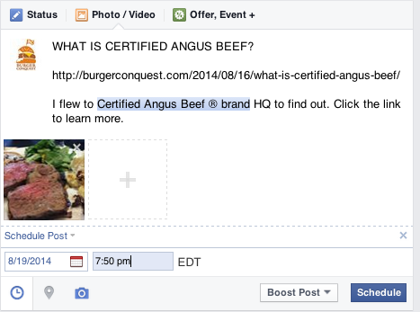how_to_schedule_facebook_posts_burger_conquest_what_is_certified_angus_beef_ 7.36.32 PM