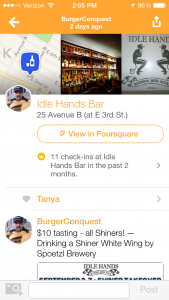 How_to_Become_Mayor_In_Swarm_App_white_star_jersey_city_burger_conquest_1370