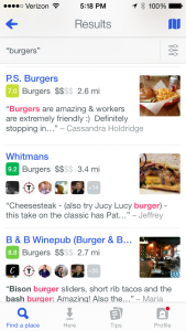 how_to_use_new_foursquare_to_search_for_restaurants_pound_and_pence_burger_conquest_nyc_financial_district_1314